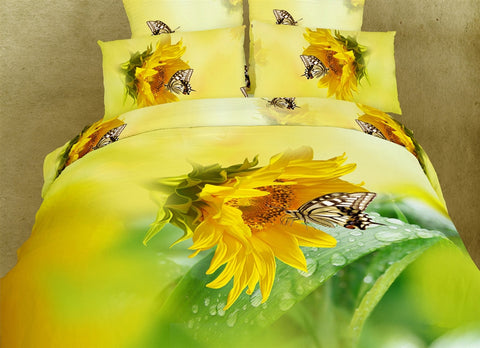 Butterfly Kisses 6PC Duvet Cover Set (Full/Queen Size) - My Bed Covers