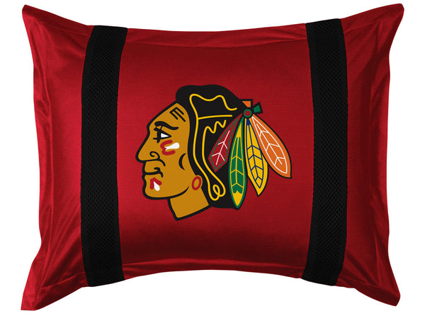 Chicago Blackhawks Pillow Sham | My Bed Covers