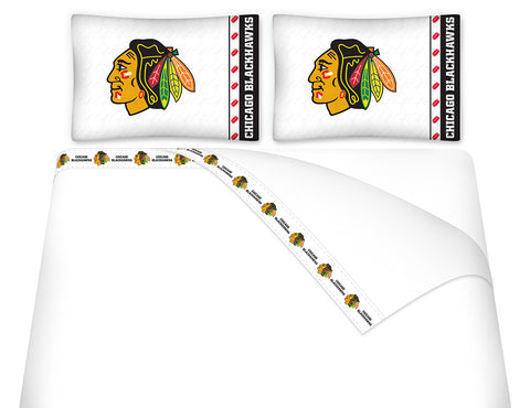 Chicago Blackhawks Sheet Set - My Bed Covers
