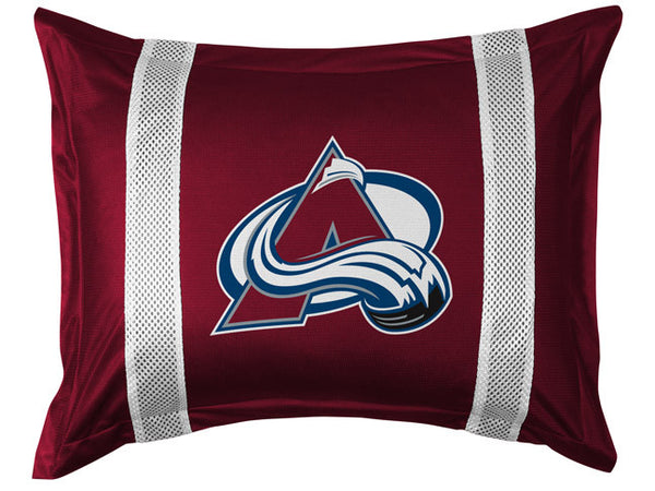 Colorado Avalanche Pillow Sham | My Bed Covers