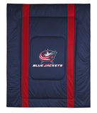 Columbus Blue Jackets NHL Sideline Comforter | My Bed Covers