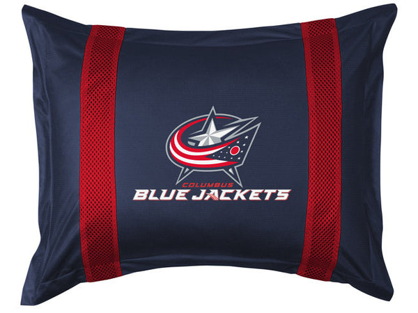 Columbus Blue Jackets Pillow Sham | My Bed Covers