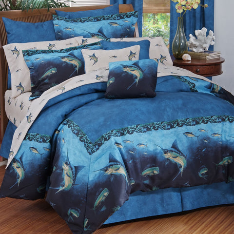 Coral Reef Comforter Set (King Size) - My Bed Covers