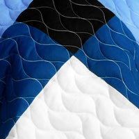 Deep Thought Brand New Vermicelli-Quilted Patchwork Quilt Set (Full/Queen Size) - My Bed Covers - 4