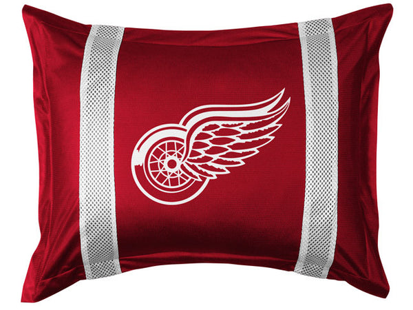 Detroit Red Wings Pillow Sham | My Bed Covers