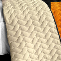 Drive Till Dawn 3PC Vermicelli - Quilted Patchwork Quilt Set (Full/Queen Size) - My Bed Covers - 3