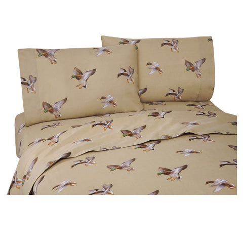 Duck Approach Sheet Set (King Size) - My Bed Covers