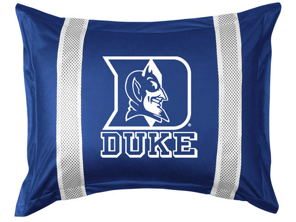 Duke Blue Devils Pillow Sham - My Bed Covers