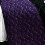 Dweep Gold 3PC Vermicelli - Quilted Patchwork Quilt Set (Full/Queen Size) - My Bed Covers - 3