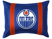 Edmonton Oilers Pillow Sham | My Bed Covers