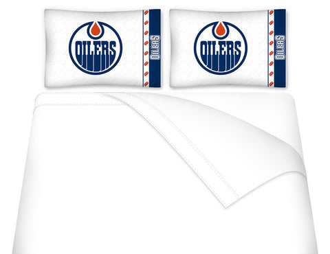 Edmonton Oilers Sheet Set - My Bed Covers - 1