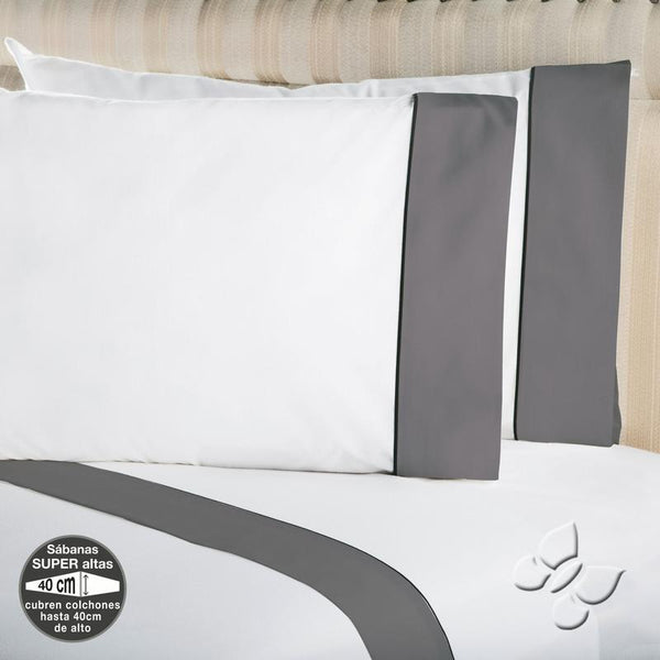 Elegance Gray Sheet Set (Full Size)