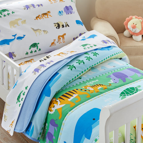 Endangered Animals Toddler Comforter - My Bed Covers