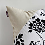 Floral World Linen Stylish Patch Work Pillow Cushion | My Bed Covers