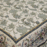 Florence 100% Cotton 3PC Classic Floral Vermicelli-Quilted Quilt Set (King Size) - My Bed Covers - 3