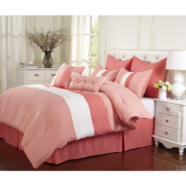Florence 8 Piece Bedding Set (King Size) | My Bed Covers