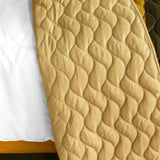 Flying In The Wind 3PC Vermicelli-Quilted Patchwork Quilt Set (Full/Queen Size) - My Bed Covers - 3