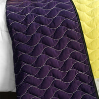 Football Field 3PC Vermicelli - Quilted Patchwork Quilt Set (Full/Queen Size) - My Bed Covers - 3