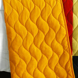 Football Glory 3PC Vermicelli-Quilted Patchwork Quilt Set (Full/Queen Size) - My Bed Covers - 3