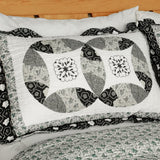 Francesca Cotton 3PC Vermicelli-Quilted Printed Quilt Set (Full/Queen Size) | My Bed Covers