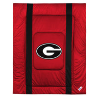 Georgia Bull Dogs NCAA Sideline Comforter | My Bed Covers
