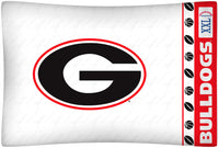Georgia Bulldogs Pillowcase - My Bed Covers