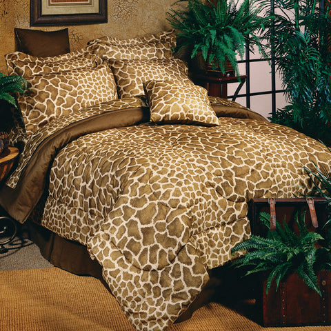 Giraffe Complete Bedding Set (Queen Size) - My Bed Covers
