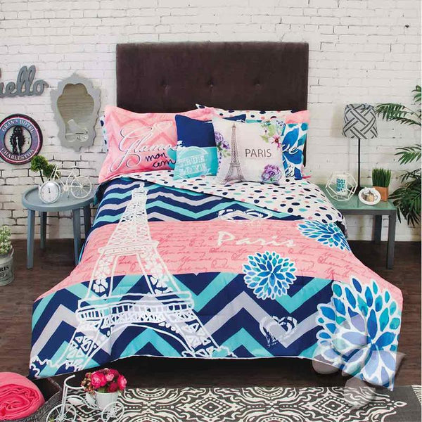 Glam Comforter Set (Twin Size)