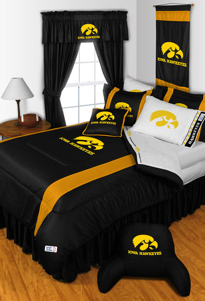 Iowa Hawkeyes NCAA Sideline Comforter | My Bed Covers