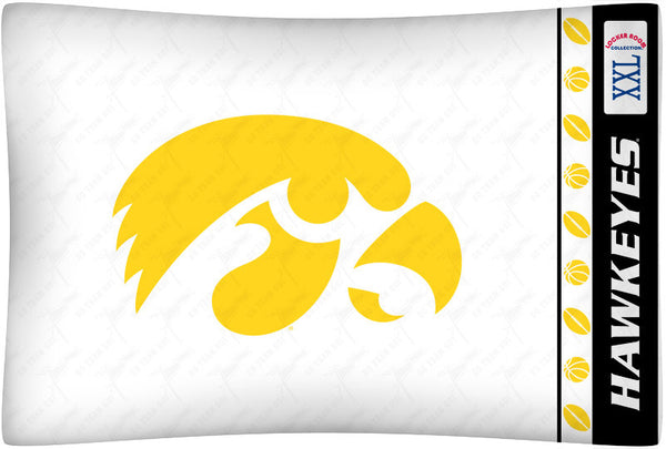 Iowa Hawkeyes Pillowcase - My Bed Covers
