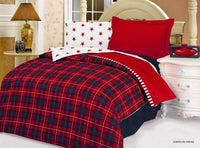 American Dream 4PC Duvet Cover Set (Twin Size) | My Bed Covers
