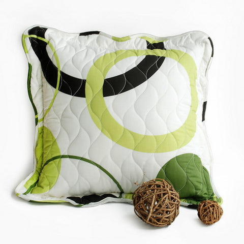 Laiquendi Quilted Decorative Pillow Cushion - My Bed Covers - 1