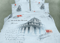 London 6PC Duvet Cover Set (King Size) | My Bed Covers