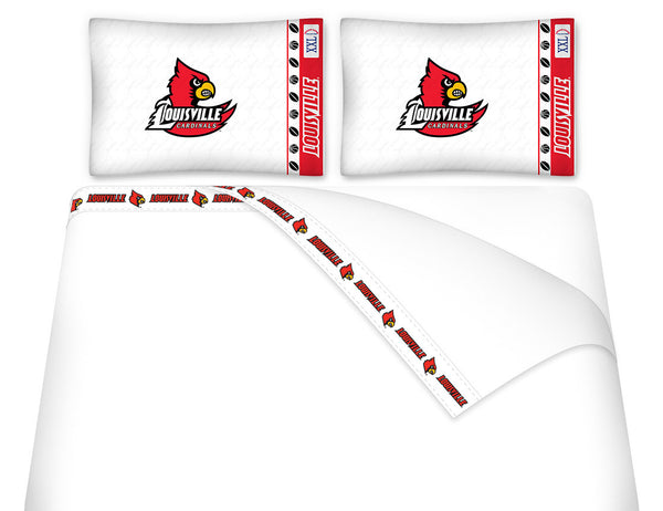 Louisville Cardinals Sheet Set - My Bed Covers - 1