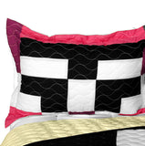 Love For A Child 3PC Vermicelli - Quilted Patchwork Quilt Set (Full/Queen Size) - My Bed Covers - 2