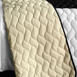 Love For A Child 3PC Vermicelli - Quilted Patchwork Quilt Set (Full/Queen Size) - My Bed Covers - 3