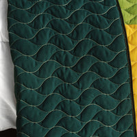 Lucky Break 3PC Vermicelli-Quilted Patchwork Quilt Set (Full/Queen Size) - My Bed Covers - 3