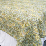 Lush Green Ferns 100% Cotton 3PC Classic Floral Vermicelli-Quilted Quilt Set (King Size) - My Bed Covers - 2