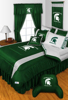 Michigan State Spartans NCAA Sideline Comforter | My Bed Covers