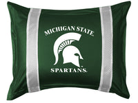 Michigan State Spartans Pillow Sham - My Bed Covers
