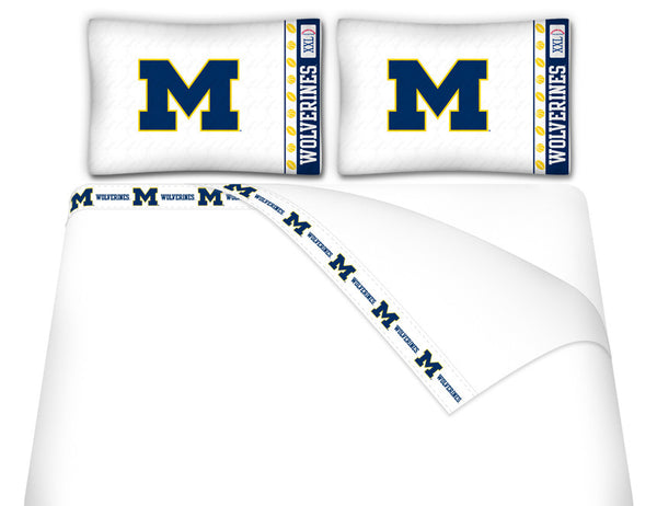 Michigan Wolverines Sheet Set - My Bed Covers - 1