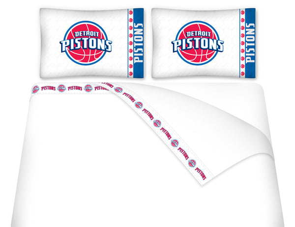 Detroit Pistons Sheet Set | My Bed Covers