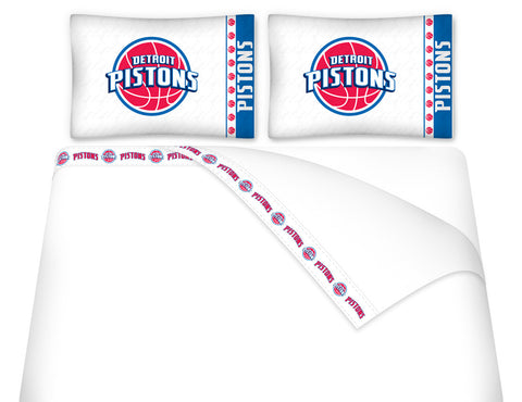 Detroit Pistons Sheet Set - My Bed Covers - 1