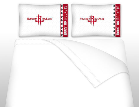 Houston Rockets Sheet Set - My Bed Covers - 1
