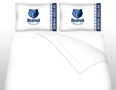 Memphis Grizzlies Sheet Set - My Bed Covers - 1