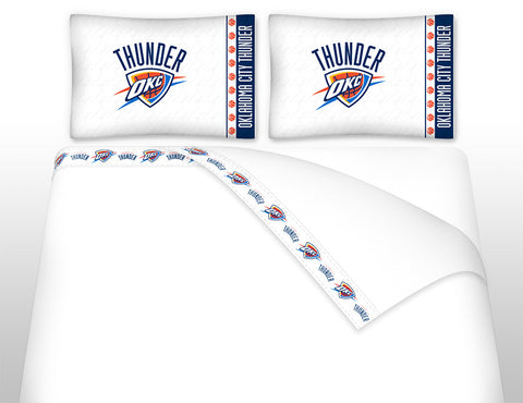 Oklahoma City Thunder Sheet Set - My Bed Covers - 1