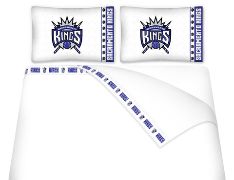 Sacramento Kings Sheet Set - My Bed Covers - 1