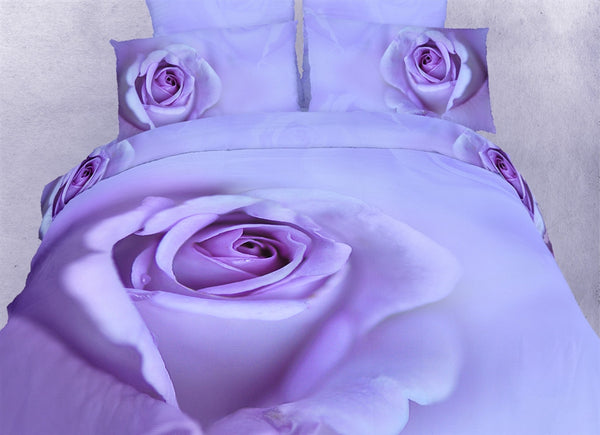 Midnight Rose 6PC Duvet Cover Set (Full/Queen Size) | My Bed Covers