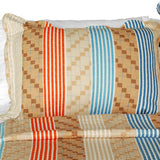 Million Miles Cotton 3PC Vermicelli-Quilted Striped Printed Quilt Set (Full/Queen Size) - My Bed Covers - 2