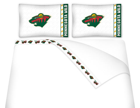 Minnesota Wild Sheet Set - My Bed Covers - 1